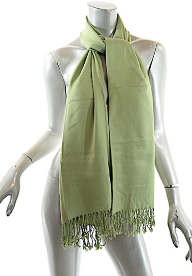 Preload https://img-static.tradesy.com/item/25488788/green-lime-cashmere-silk-blend-shawl-with-fringe-scarfwrap-0-1-540-540.jpg