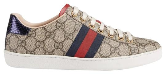 Preload https://item2.tradesy.com/images/gucci-beige-new-ace-gg-supreme-75-sneakers-size-eu-375-approx-us-75-regular-m-b-25488796-0-1.jpg?width=440&height=440