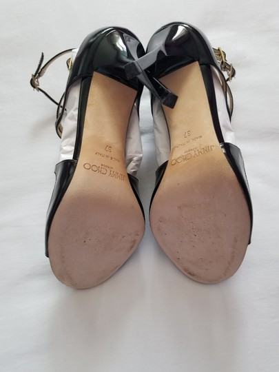 Jimmy Choo Strappy Black Patent Leather Sandals Image 4