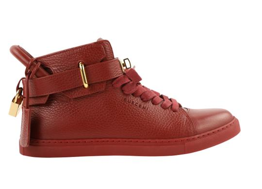 Preload https://img-static.tradesy.com/item/25488826/buscemi-red-leather-high-top-sneakers-size-us-8-regular-m-b-0-1-540-540.jpg