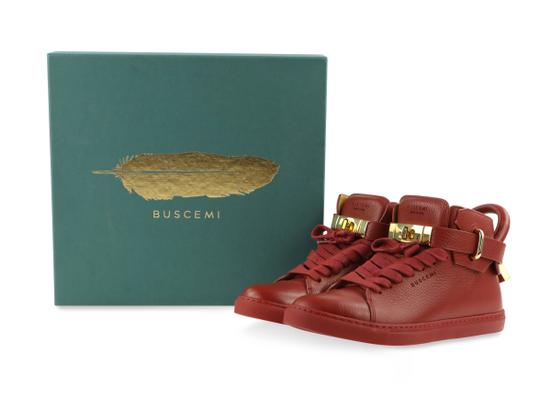 Buscemi Red Athletic Image 11