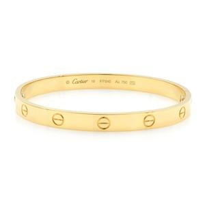 Cartier Love Bangle Size 18