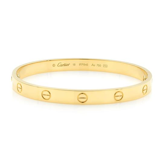 Cartier Love Bangle Size 18 Image 0