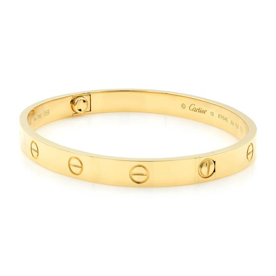 Cartier Love Bangle Size 18 Image 1