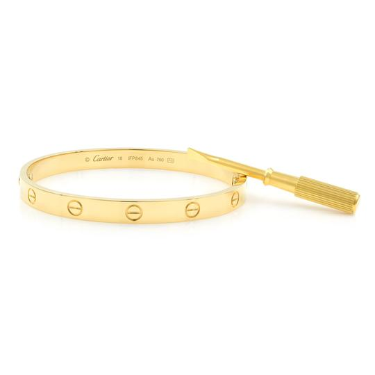 Cartier Love Bangle Size 18 Image 2