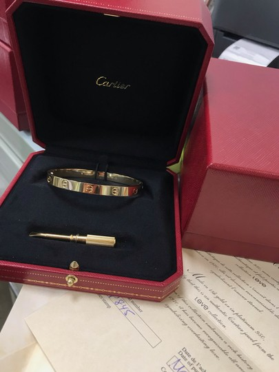 Cartier Love Bangle Size 18 Image 5