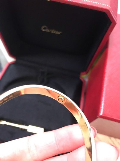 Cartier Love Bangle Size 18 Image 7