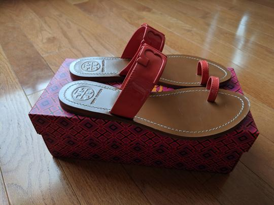 Tory Burch Marcia poppy red Sandals Image 4