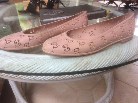 Gucci Nude Pink Flats Image 2