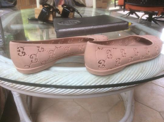 Gucci Nude Pink Flats Image 3