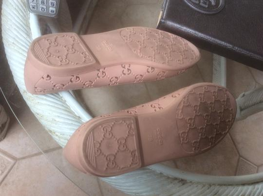 Gucci Nude Pink Flats Image 5