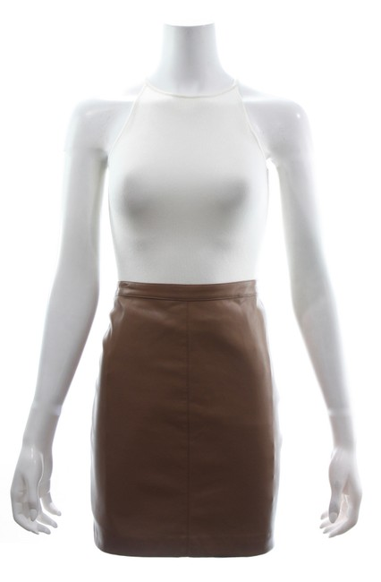 Preload https://img-static.tradesy.com/item/25488962/reiss-brown-faux-leather-a-line-skirt-size-6-s-28-0-0-650-650.jpg