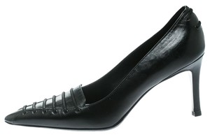 Gucci Leather Pointed Toe Black Pumps