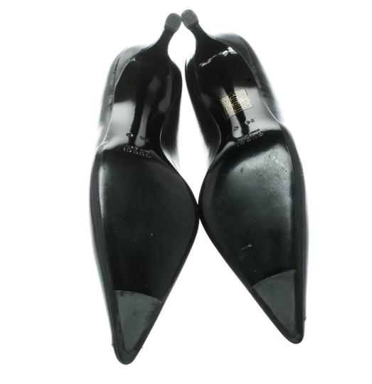 Gucci Leather Pointed Toe Black Pumps Image 5