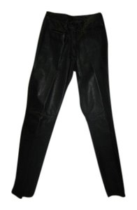 Preload https://item5.tradesy.com/images/black-hand-crafted-italian-leather-no-pockets-in-rear-skinny-pants-size-6-s-28-25489-0-1.jpg?width=400&height=650