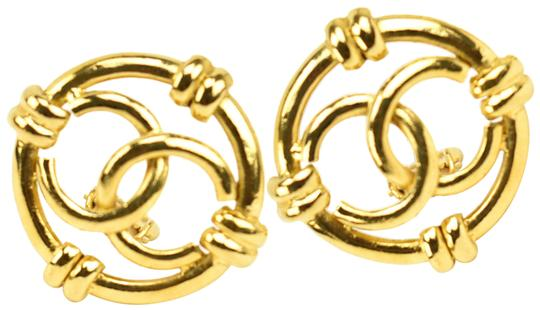 Preload https://img-static.tradesy.com/item/25489051/chanel-gold-plated-metal-and-cc-logo-rm-earrings-0-1-540-540.jpg