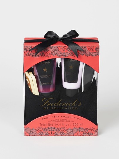 Frederick's of Hollywood NWT Frederick's of Hollywood Slipper Gift Set Image 1