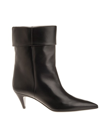 Preload https://img-static.tradesy.com/item/25489109/saint-laurent-black-ankle-boot-flats-size-eu-41-approx-us-11-regular-m-b-0-0-540-540.jpg