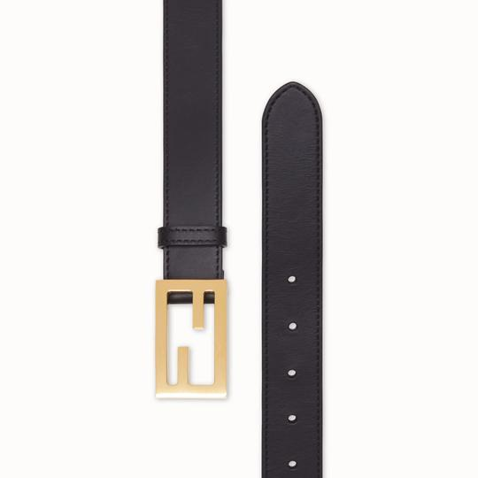 Fendi Brand New - Fendi Black Leather Belt - Size 85 Image 1