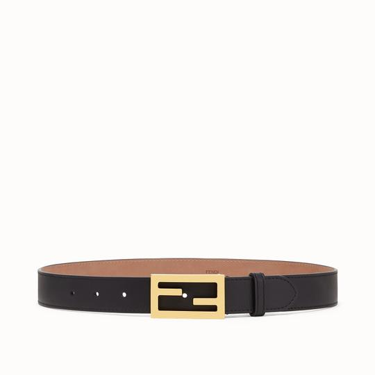 Fendi Brand New - Fendi Black Leather Belt - Size 85 Image 2