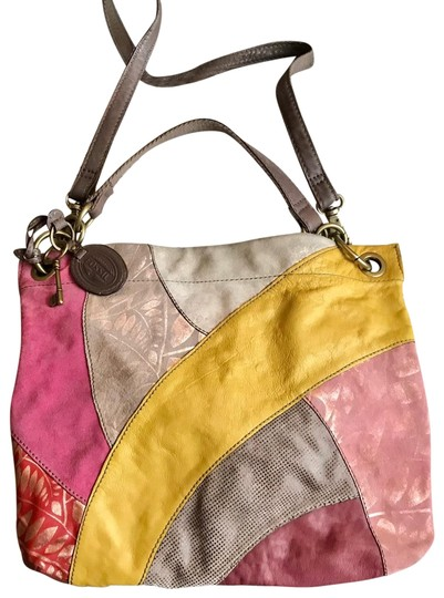 Preload https://img-static.tradesy.com/item/25489177/fossil-lyla-patchwork-multicolor-leather-and-suede-hobo-bag-0-2-540-540.jpg