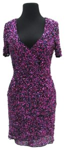 Precious Formals Short Prom Homecoming Sequins Dress