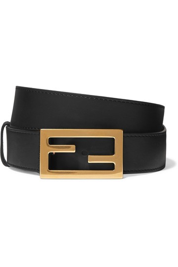 Preload https://img-static.tradesy.com/item/25489275/fendi-black-leather-size-70-belt-0-0-540-540.jpg