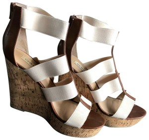 Steve Madden Tan/Brown Wedges