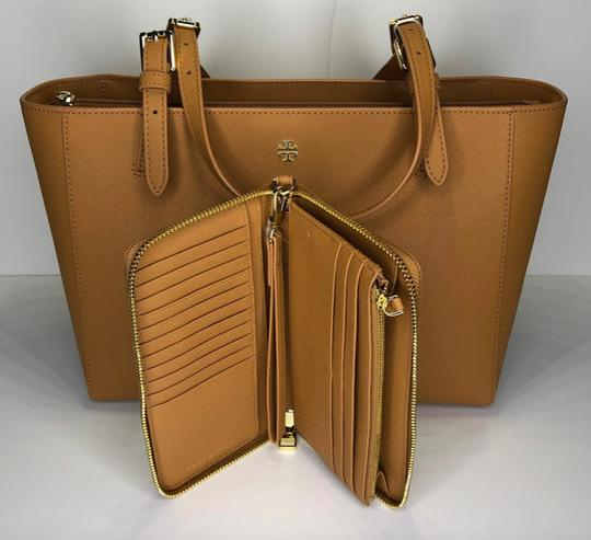 Tory Burch Shopper Purse Leather Matching Set Tote in Cardamom Image 2