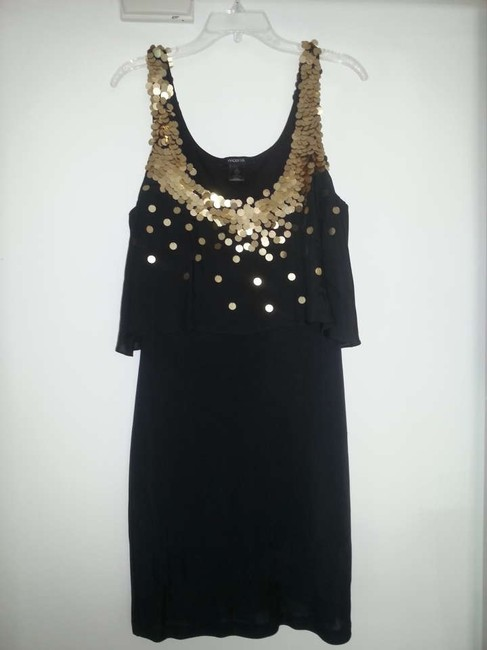 Arden B. Silk Sequin Sleeveless Dress