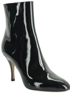 Valentino Zip Pointed Toe Black Boots