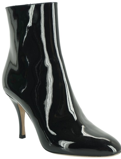 Valentino Zip Pointed Toe Black Boots Image 0