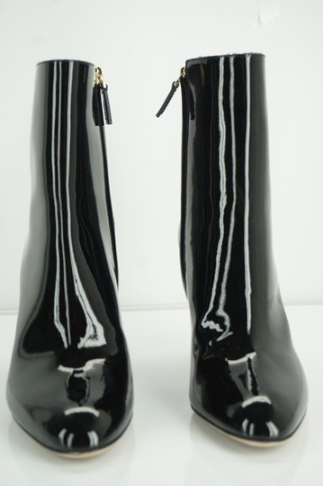 Valentino Zip Pointed Toe Black Boots Image 10