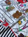 Moschino This is a 1990s vintage scarf from Moschino featuring a map of Milan Image 9