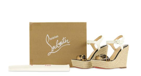 Christian Louboutin Brown Wedges Image 11