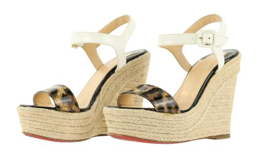 Christian Louboutin Brown Wedges Image 3