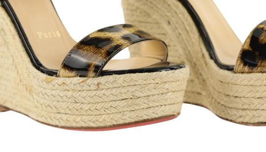 Christian Louboutin Brown Wedges Image 6