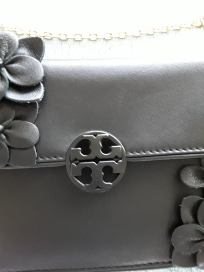 Tory Burch Black Clutch Image 2