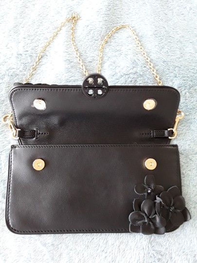 Tory Burch Black Clutch Image 6