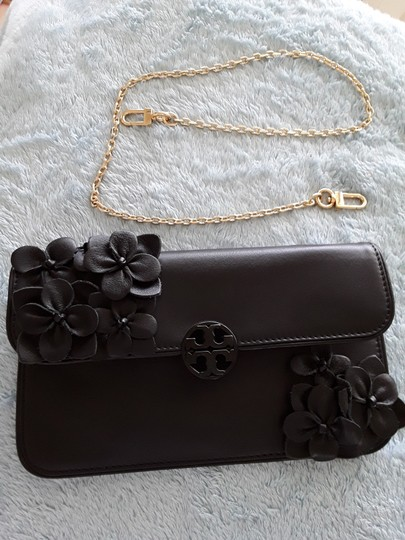 Tory Burch Black Clutch Image 7