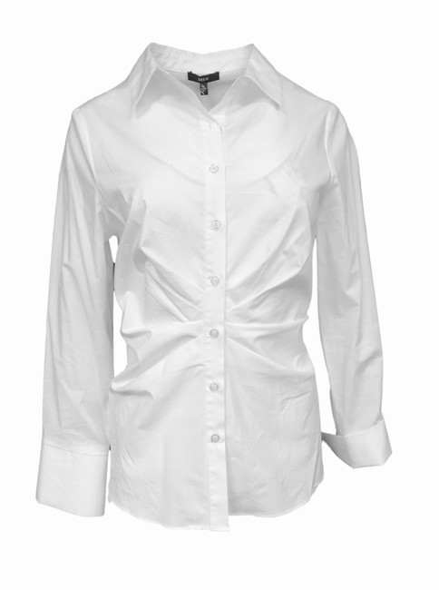 Preload https://img-static.tradesy.com/item/25489457/drew-white-bodie-pleated-shirt-button-down-top-size-12-l-0-0-650-650.jpg
