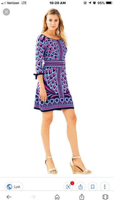 Lilly Pulitzer Bright Preppy Dress Image 1