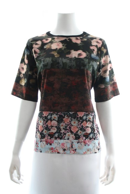 Item - Multicolor Floral Tee Shirt Size 6 (S)