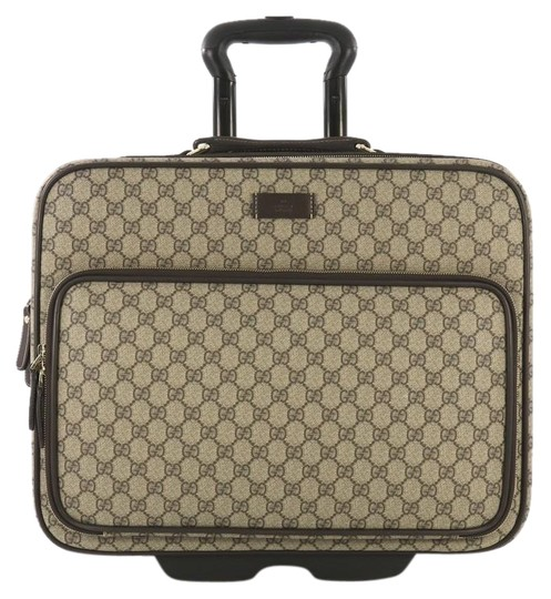 Preload https://img-static.tradesy.com/item/25489570/gucci-carry-on-trolley-rolling-luggage-gg-coated-brown-canvas-with-leather-cross-body-bag-0-1-540-540.jpg