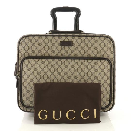 Gucci Canvas Leather Cross Body Bag Image 1