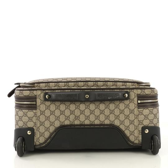 Gucci Canvas Leather Cross Body Bag Image 4