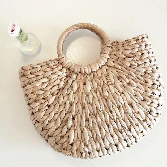 Other Tote in straw/tan Image 1