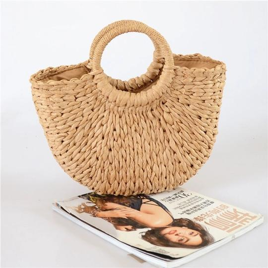 Other Tote in straw/tan Image 2