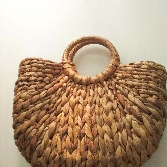 Other Tote in straw/tan Image 5