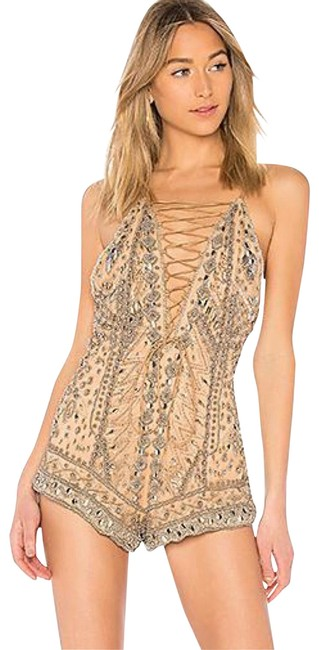 Preload https://img-static.tradesy.com/item/25489666/nbd-nude-and-silver-x-by-pandora-romperjumpsuit-0-1-650-650.jpg